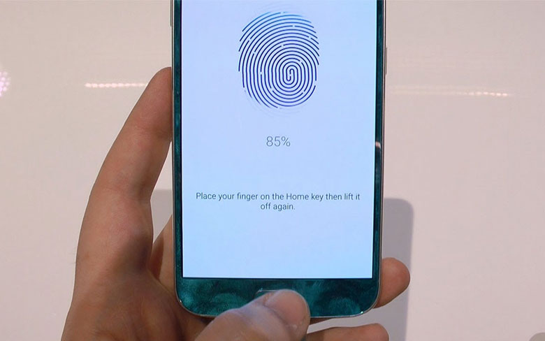 Samsung Galaxy S6 Edge Fingerprint