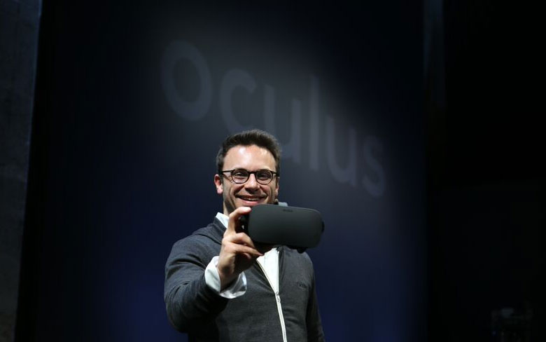 Oculus CEO launches Rift