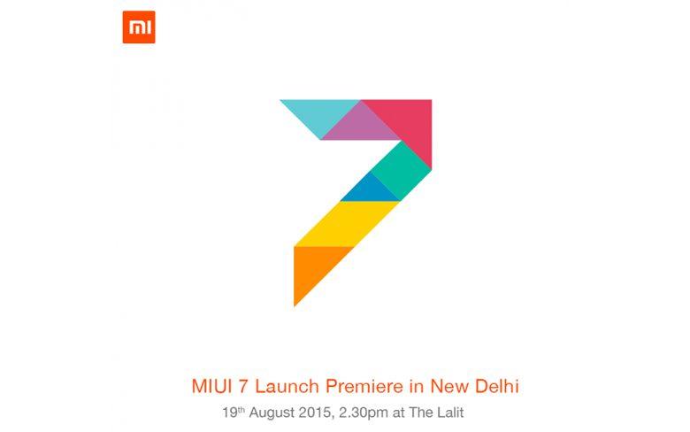MIUI 7 Launch date