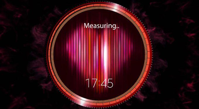 Samsung Gear S2 Heart Sensor