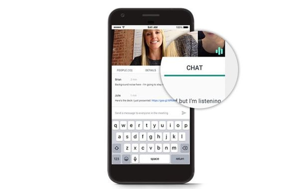 Hangouts Meet Chat