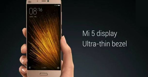 Xiaomi-Mi5 Metal Body
