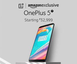 Amazon OnePlus 5T