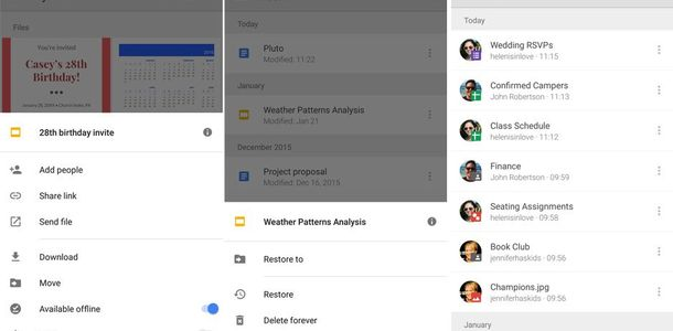 Google Drive for Android-pdate