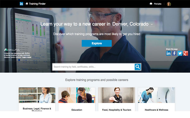 LinkedIn introduces Training Finder for job seekers to acquire new skills