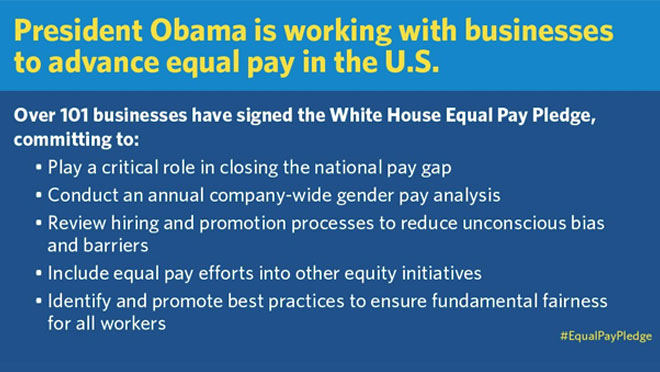 Equal Pay White House