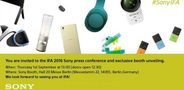 Sony IFA Invite
