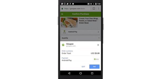 Android Pay Mobile