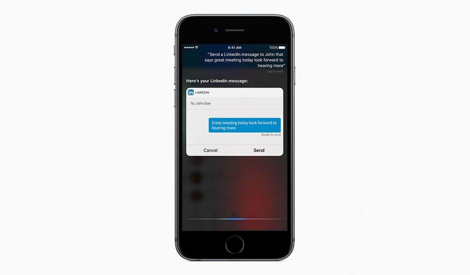 Apple Siri Linkedin