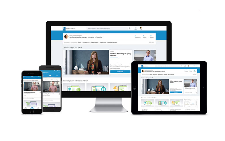 LinkedIn Redesigned Website