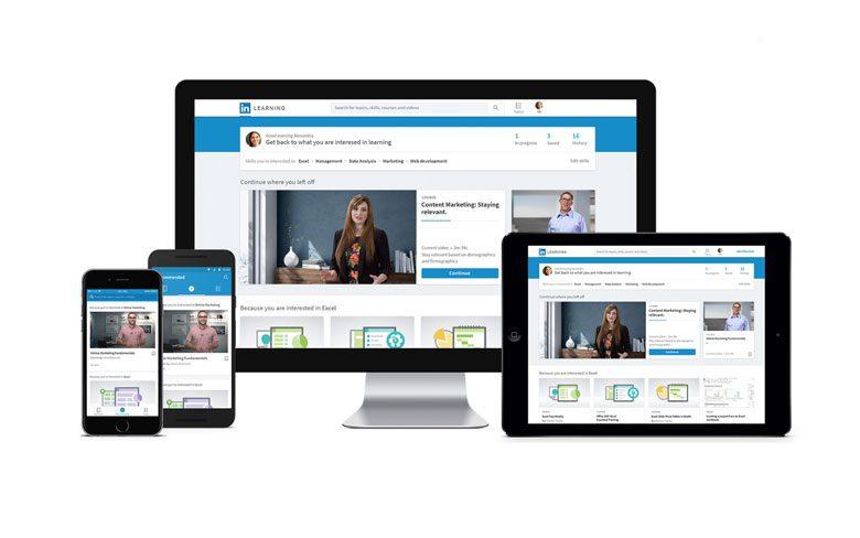 LinkedIn Redesigned Website
