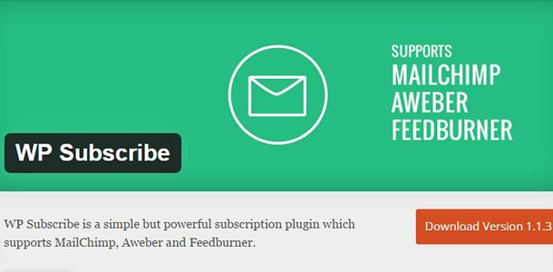 WP Subscribe WordPress Plugin