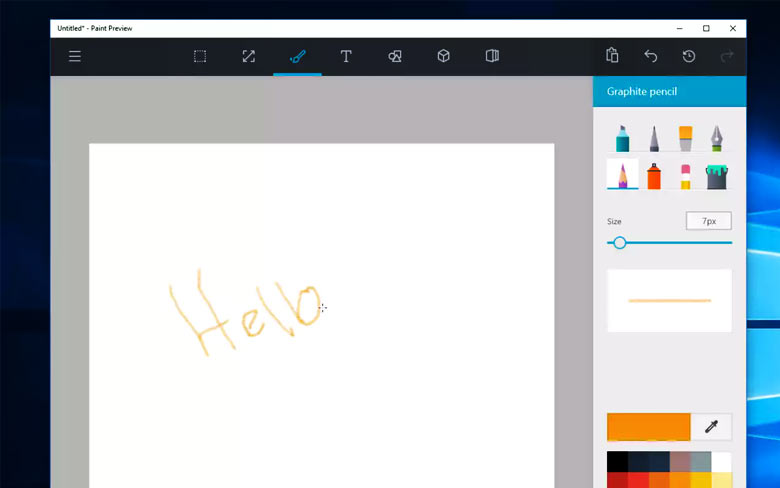 New Version Microsoft Paint