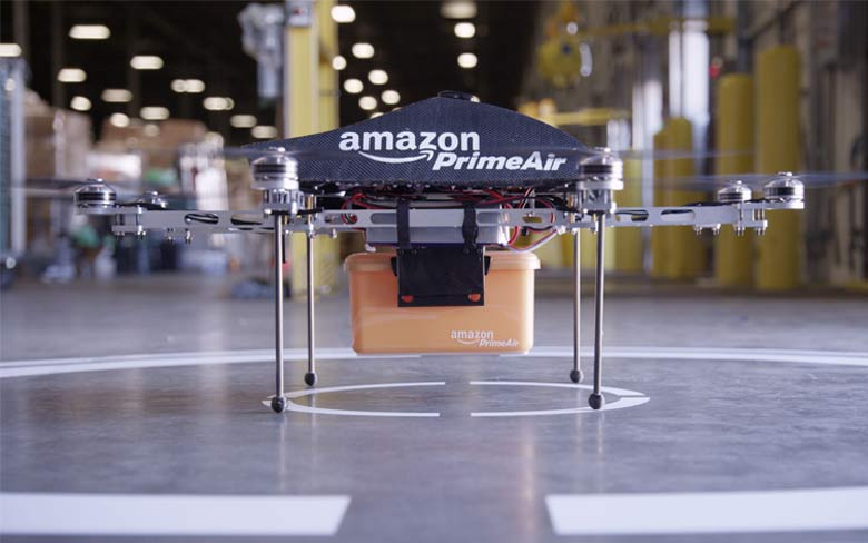 Amazon Flying Warehouse