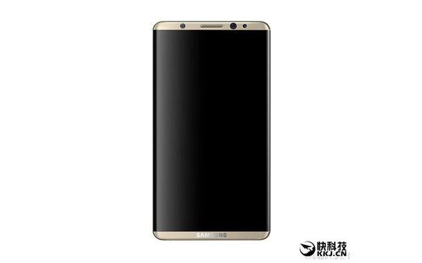 Samsung S8 render