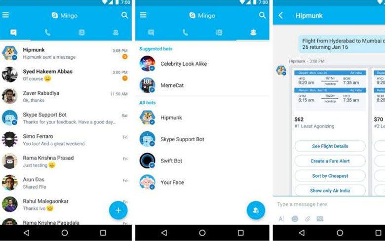 Skype Mingo App