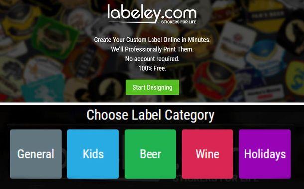 Labeley App