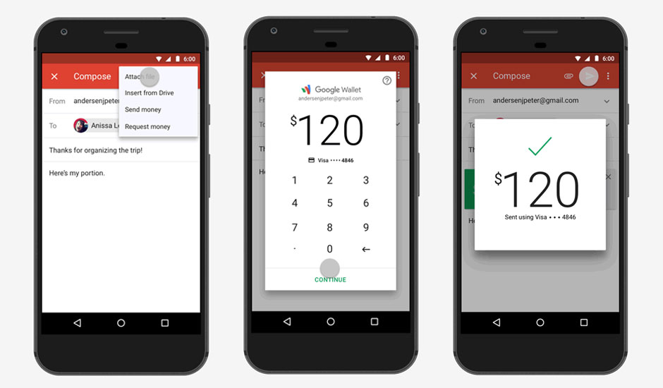 Gmail App Money