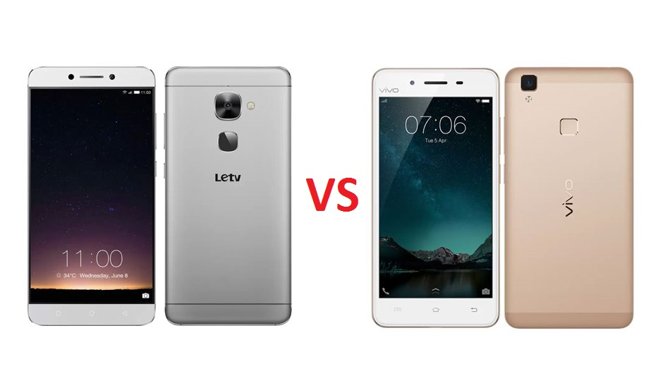 LeEco Le 2 vs Vivo V3