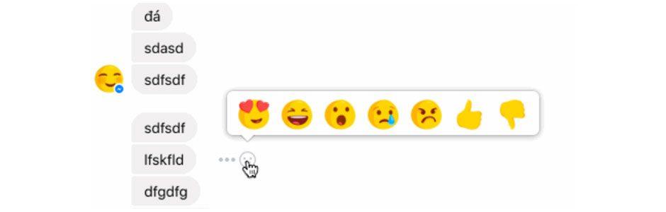 Messenger Reactions