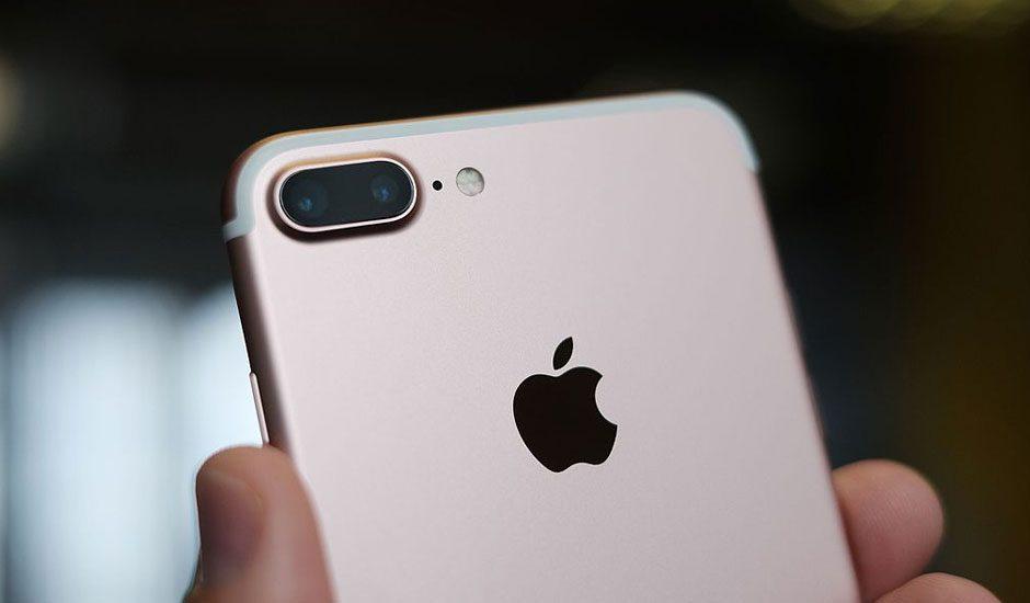 Apple phone GUI