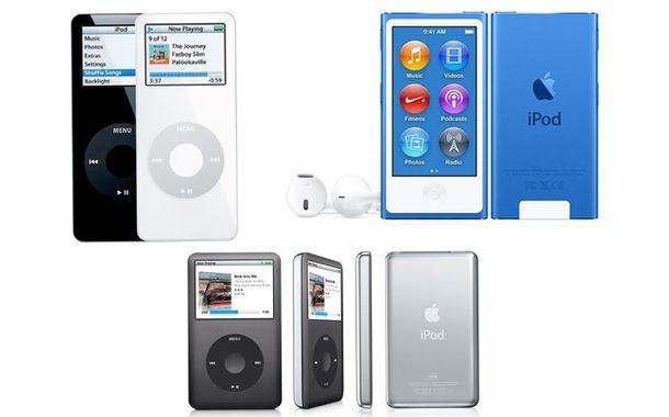iPod Nano and iPod Shuffle
