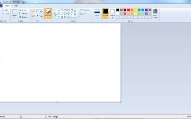 Microsoft Paint Download Of Microsoft Paint Is To Be Revived In Windows 10