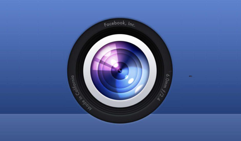 New Facebook Camera