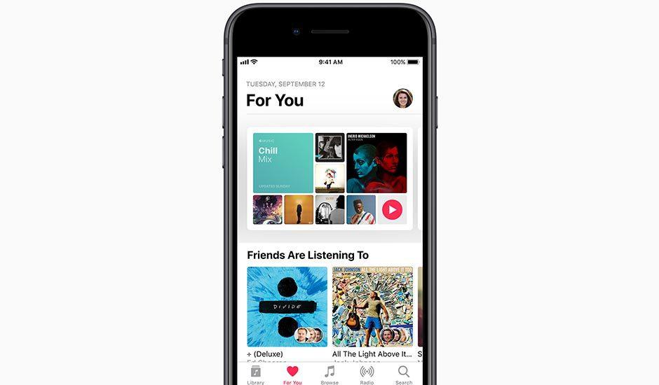 iOS 11 Apple Music