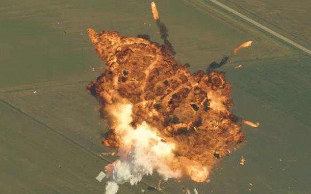 Elon Musk's Rocket Explosion