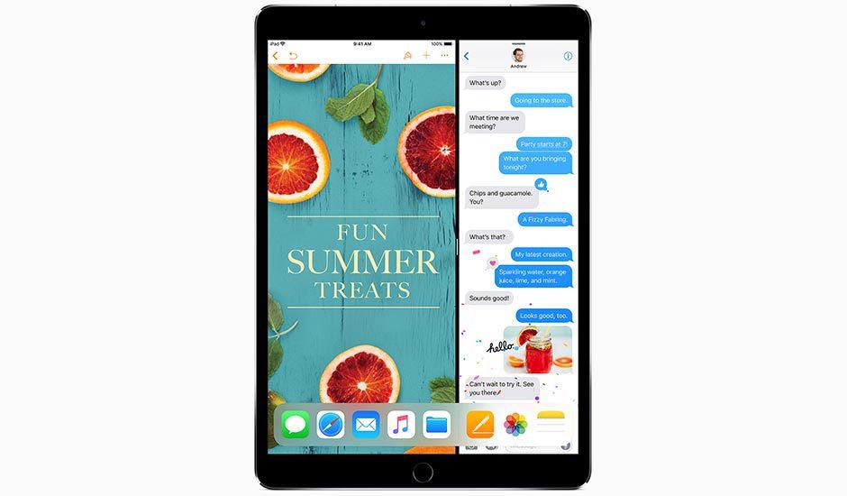 iOS 11 iPad Pro
