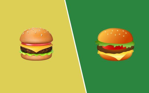 Google Cheeseburger Emoji