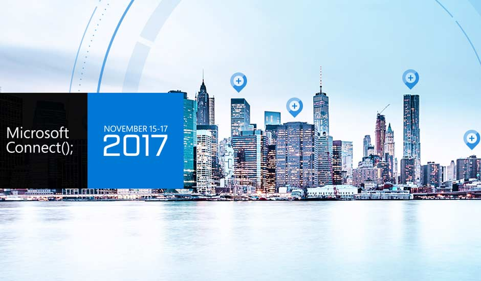Microsoft Connect 2017
