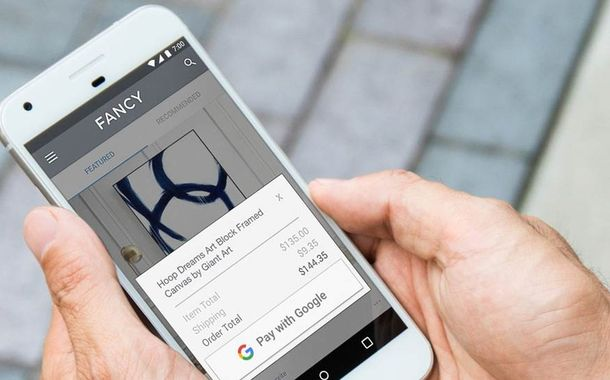 Paying with Google