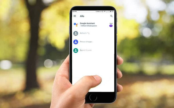 Google Allo New Feature