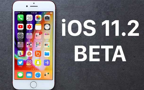 iOS 11.2 Beta 2 for iPhone X