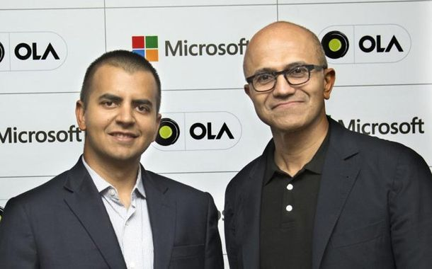 Ola Microsoft Partnership
