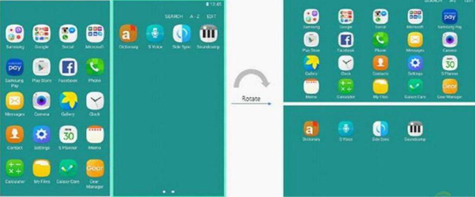 Samsung Galaxy X UI
