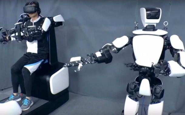Toyota Humanoid Robot