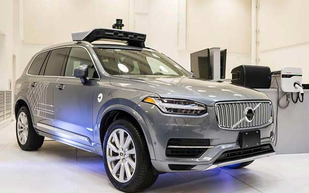Volvo Self Driving Car