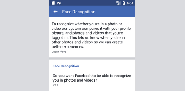 Face Recognition Internal