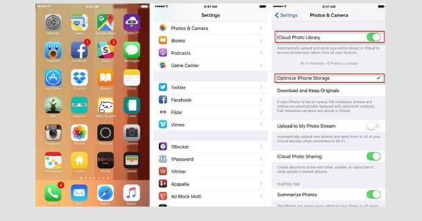 iOS iCloud
