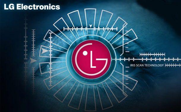 LG G7 iris scanner