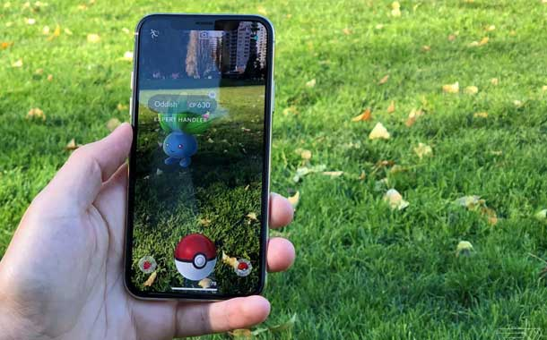 Pokemon Go Supports ARKit
