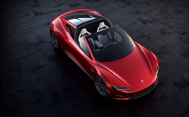 Tesla Roadster Mars Voyage
