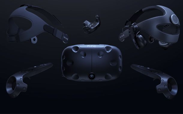 HTC unveils higher-resolution Vive Pro VR headset with built-in headphones