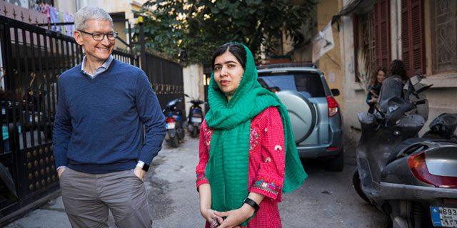 Apple Partners Malala Fund