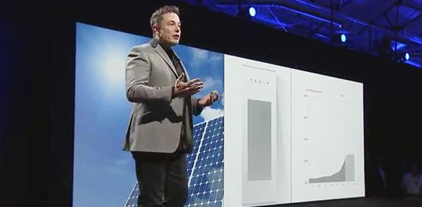 Elon Musk Solar Roof Tile Event