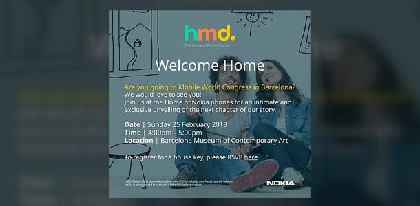 HMD MWC Invitation