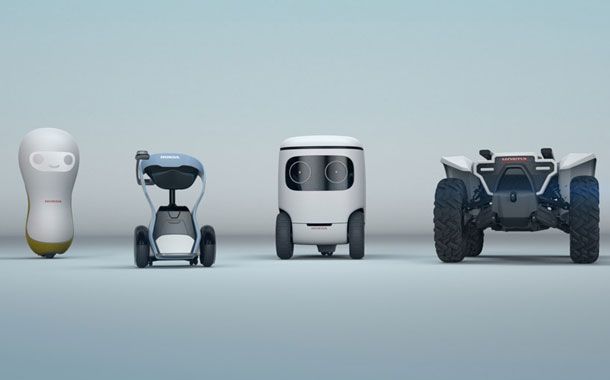 Honda 3e robotic concepts